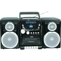 Naxa Portable CD Player w/ AM/FM Radio Cassette Player/Recor