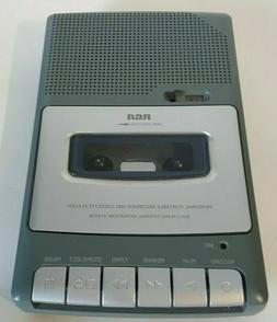 RCA RP3504-B: Cassette Shoebox Voice Recorder Player w/ Batt