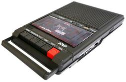 QFX Retro-39 Shoe Box Tape Recorder