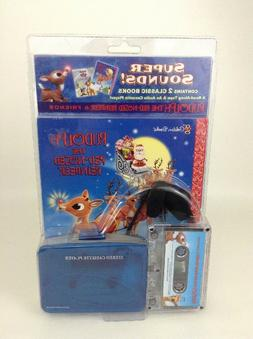SEALED Rudolph Red Nosed Reindeer GoodTimes Cassette Player