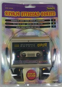 Sealed VTG 1997 Street Beat Stereo Cassette Player 8940 NIP