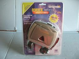 Memorex Stereo Cassette Player # MB1001 NIP