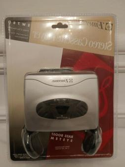 Emerson Stereo Cassette Player New