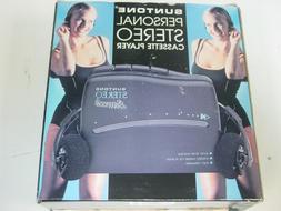 Stereo Personal Tape Cassette PLAYER Walkman Suntone