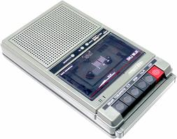 Two Station CLassroom Cassette Player & Recorder with USB Po