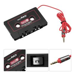 Universal Audio Cassette Tape Adapter AUX Cable 3.5mm for iP