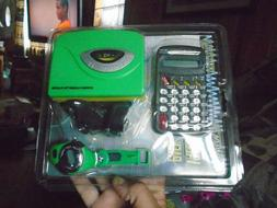 Value Pack  Cassette player watch and calculator Green color