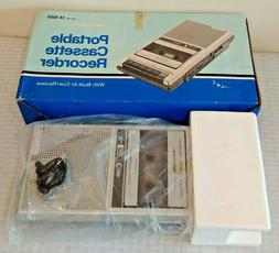 Vintage Realistic CTR-70 Portable Cassette Record MIB Never