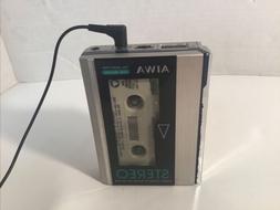 Vintage AIwa HS-P05 MKII Rare  Cassette Walkman  Retro Works