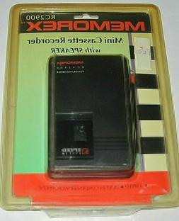 Vintage SEALED 1980'S MEMOREX RC2900 MINI CASSETTE RECORDER