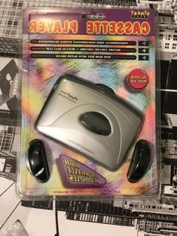VTG CASSETTE WALKMAN LENOXX 1999 NEW OLD STOCK PLAYER HEADPH