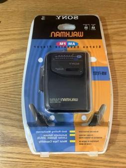 Sony Walkman AM FM Stereo Cassette Player WM-FX101 Vintage N