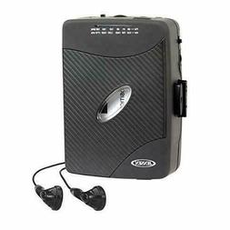 WALKMAN Cassette Player - Jensen Portable TAPE DECK Earbuds
